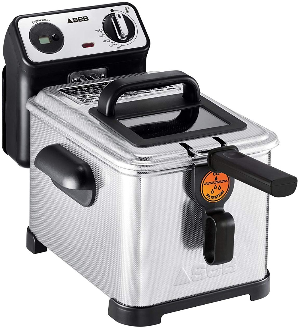seb fr518100 friteuse semi-professionnelle filtra pro 4l 2300w