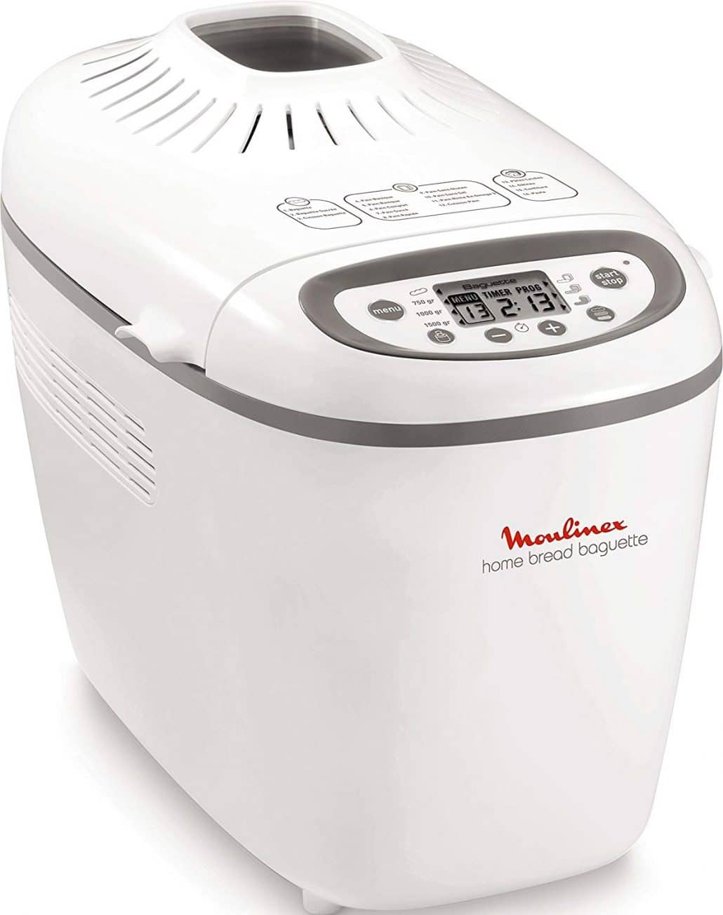 machine à pain moulinex home bread baguettes ow610110
